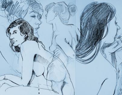 Live Drawing - Lage DOr Paris II