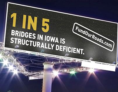 Iowa Fund Our Roads Campaign