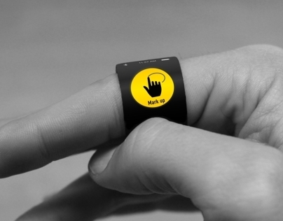 A Smart Ring for City Activists