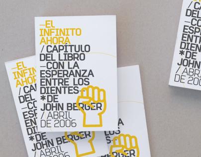 El Infinito ahora (John Berger)
