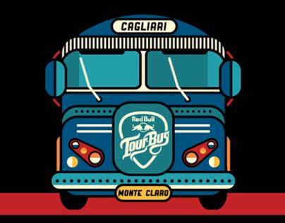 Red Bull Tour Bus / Cagliari