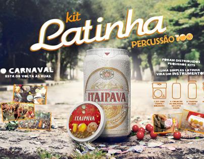 Kit Latinha Percussão 100% Itaipava