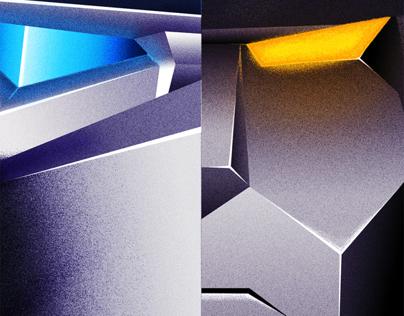 Transformers 4 poster set