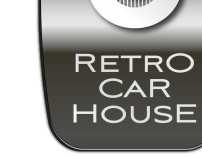 Retro Car House - Logo
