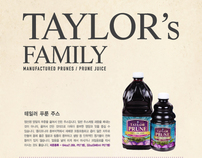 Taylor Prune Package Design