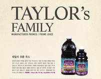 Taylor Prune Package Design