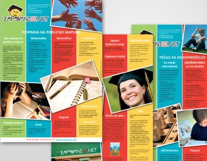 Zapomnisi - logo in letaki / Logo and flyers