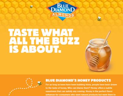 Blue Diamond Honey Website