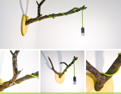 Concept: Eco TreeD Lamp