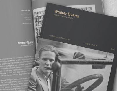Walker Evans: American Photographs Exhibition