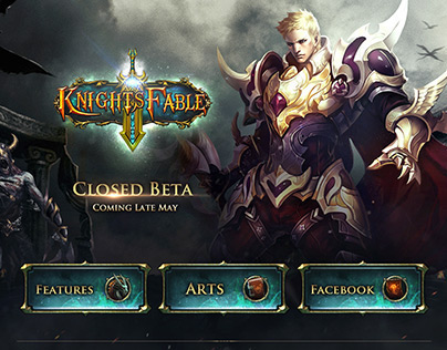 Knight's Fable/ Game website