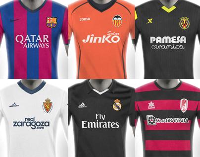 La Liga Football Kit Designs