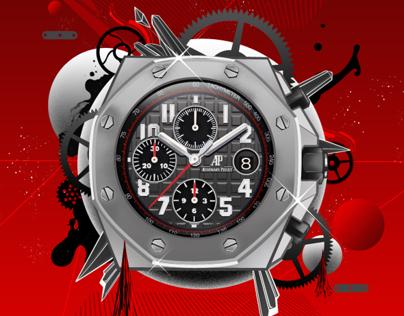 Luxury Watches Editorial Illos