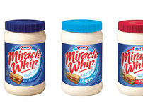 Kraft Foods Miracle Whip Salad Dressing Packaging