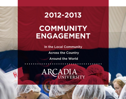 University Communications Brochures