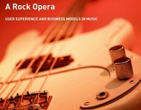 Research: User Experience and Business Models in Music