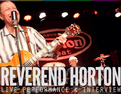 Transmissions-LIVE Ep.10 Reverend Horton Heat LIVE