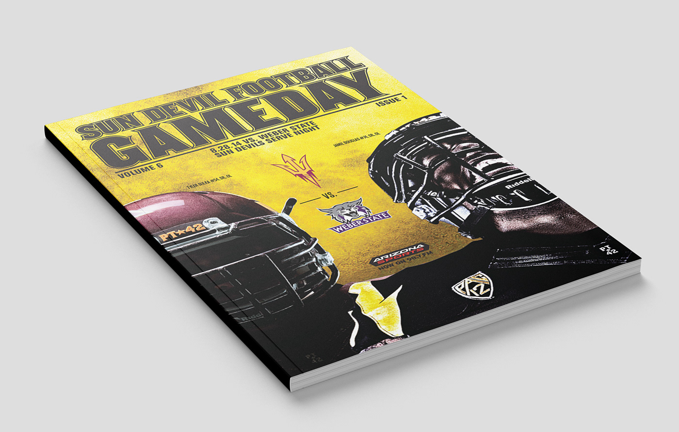 Sun Devil Football Gameday Cover Series
