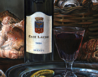 More still lifes for Banfi Wines