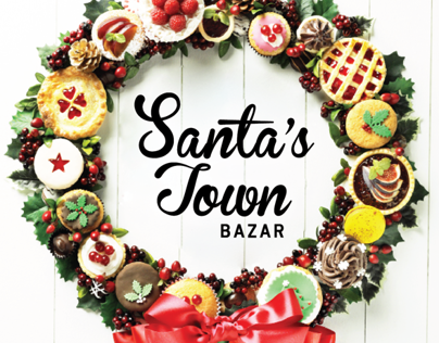 Santas Town Bazaar - Flyers