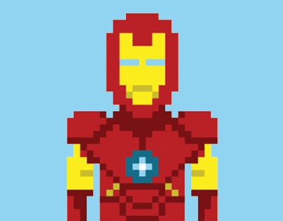 Iron Man - The Pixel Collection