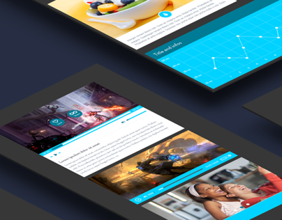 Blue Print UI | Free Download