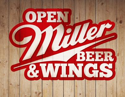 Poster Miller & Wings