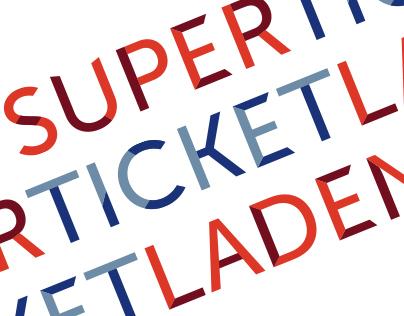 SuperTicketLaden Branding