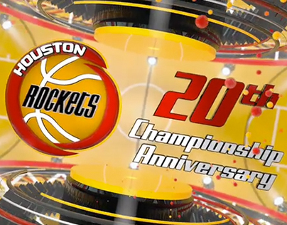 Rockets 20th Championship Anniversary Promo