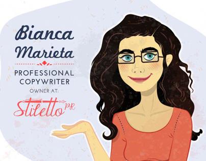 Stiletto PR - Bianca Marieta (professional copywriter)