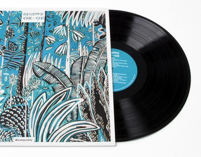 Music Cover. Vinyl.