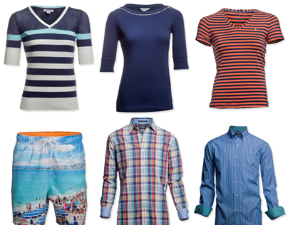 Product Catalogue for Nautica Apparels, India.