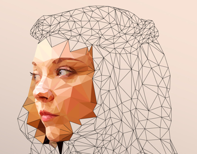 ILLUSTRATION | Margaery - Low Poly