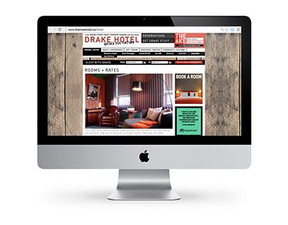 Drake Hotel Website