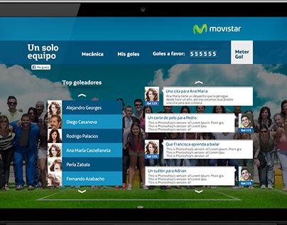 [MOVISTAR VENEZUELA] Website y WebApp Un solo equipo