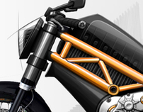 E-Bike Illustration