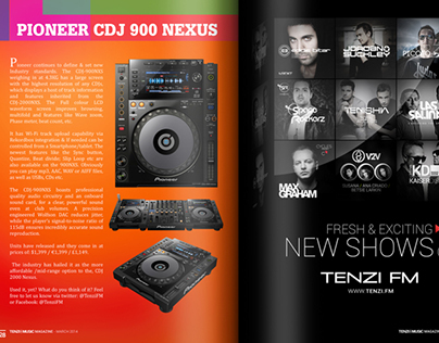 Tenzi ♪ Music Magazine March Edition