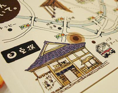 Flyer design & illustration for Mamesen