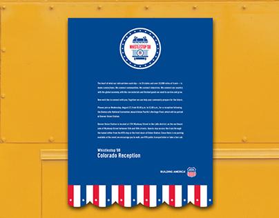 Union Pacific—Whistlestop '08