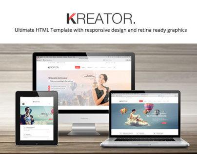 Kreator Ultimate HTML5 Template