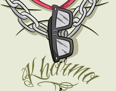 KHARMA SKATEBOARDS · Illustration