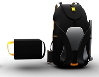 Vertical Freeride Backpack