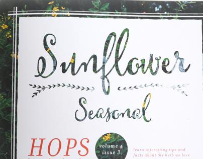 Sunflower Seasonal Magazine