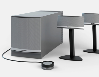 Bose Companion 5 - 3D Visualization