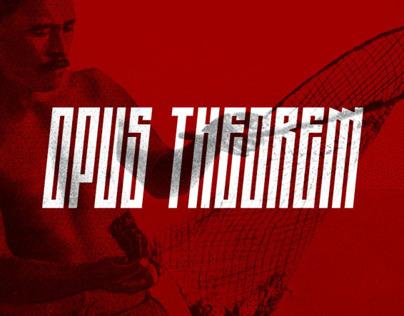 Opus Theorem - Font.