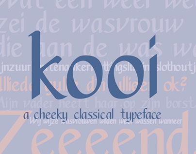 Kooi Typeface