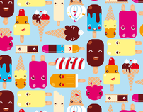 Kawaii Pattern Design