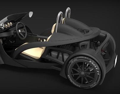 3DPCX - 3D Printed Car eXperiment