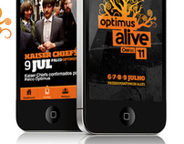 Optimus Alive 2011 - APP