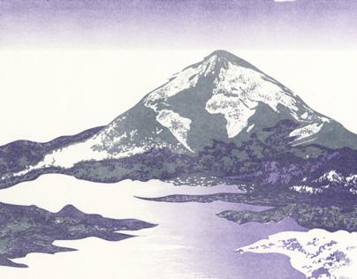 Magma Carta lithograph